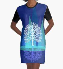 Nature's Reign  Graphic T-Shirt Dress