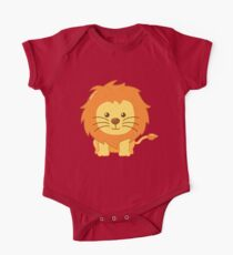 Cute Lion for Kids One Piece - Short Sleeve