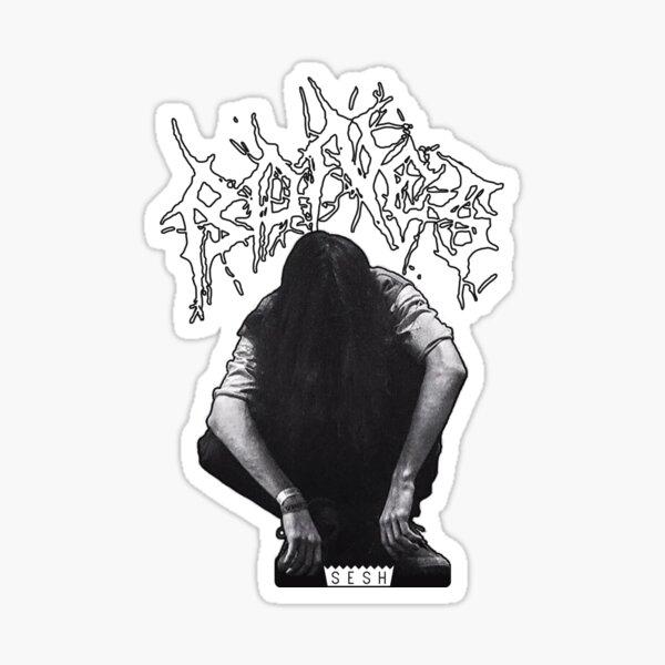 Bones SESH - Black Metal (v2) Pegatina