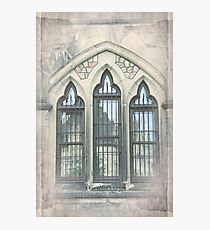 Reflections in Windows, Ottawa Parliament Photographic Print