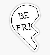 Best Friends Heart - Left Sticker