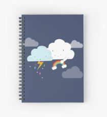 Get well soon little cloud Spiral Notebook
