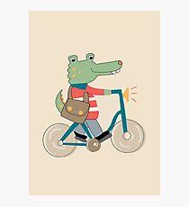 Croc Photographic Print