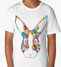 Rainbow Rabbit Long T-Shirt