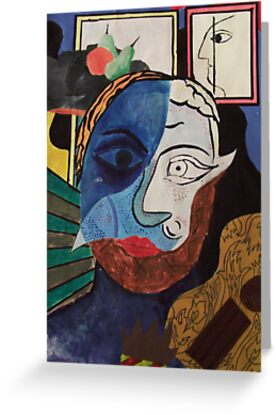 Picasso Inspired by Faizan Qureshi