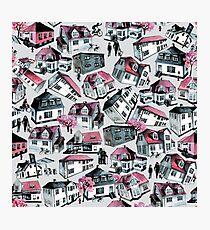 Danish small town pattern Photographic Print