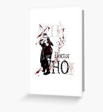 Peter Capaldi Greeting Card