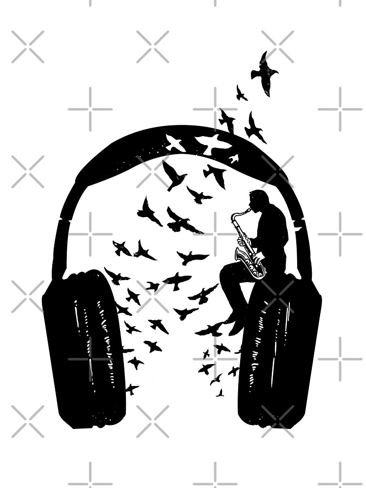 Headphone - Saxophone by barmalisiRTB