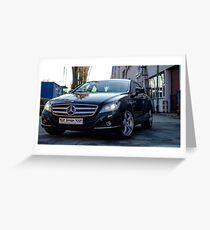 Mercedes-Benz CLS Greeting Card