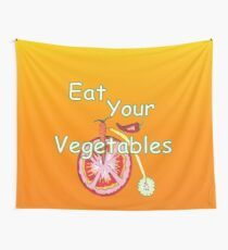 Vegetable Kitchen Decor Wall Tapestry