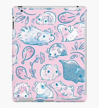 Guinea Pig Huddle In Pink iPad Case/Skin