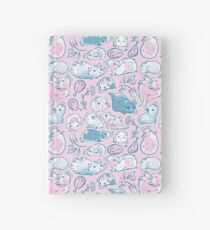 Guinea Pig Huddle In Pink Hardcover Journal