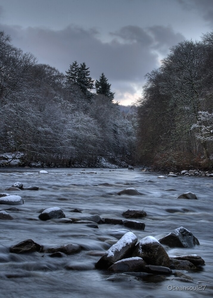 Blair Atholl River by Oceansoul27
