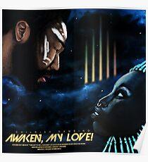 Childish Gambino 'Awaken My Love!' Original Album Artwork (v2) Poster