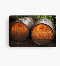 MacAllan Casks - Scotland Canvas Print