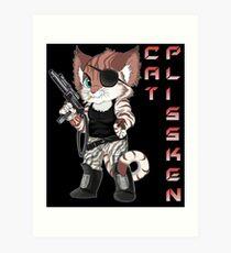 Cat Plissken Art Print