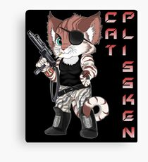 Cat Plissken Canvas Print