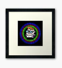 My Hero Dexter Framed Print
