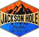 JACKSON HOLE WYOMING Mountains Skiing Ski Snowboard Hiking Snowboarding by MyHandmadeSigns