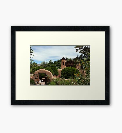 Chimayó Colors Framed Print