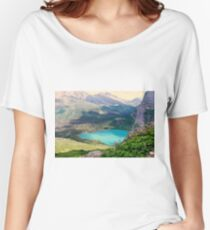 Paradise In The Glacier Women's Relaxed Fit T-Shirt