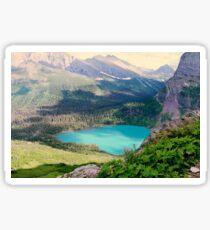Paradise In The Glacier Sticker