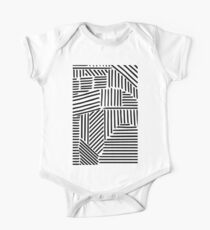 Strypes BW One Piece - Short Sleeve