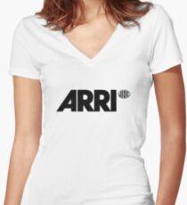 Arri Camera Women's Fitted V-Neck T-Shirt