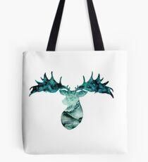 Irish Elk Silhouette Tote Bag