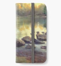 Spring at the Duck Pond iPhone Wallet/Case/Skin