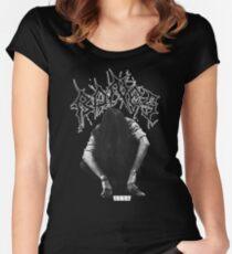 Bones SESH - Black Metal Women's Fitted Scoop T-Shirt