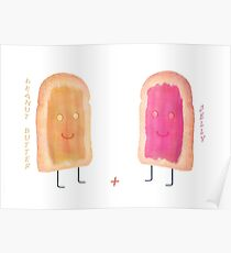Peanut Butter & Jelly Poster