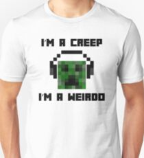 Minecraft Creeper Radiohead Parody T-Shirt