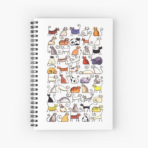 Cats, cats, cats! Spiral Notebook