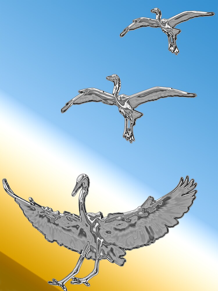 Silver Birds by Michael Wolf
