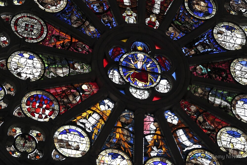 Stained Glass, Le Mans by Remy NININ