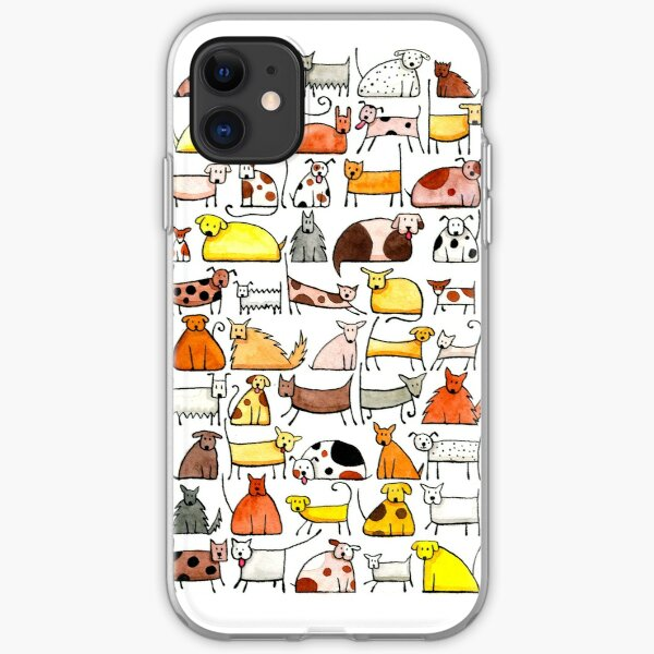 Dogs, dogs, dogs!!! iPhone Soft Case