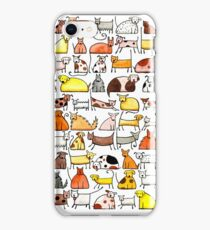 Dogs, dogs, dogs!!! iPhone Case/Skin