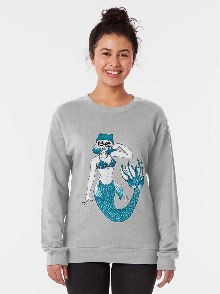 Alternate view of Hipster Mermaid Pullover Sweatshirt
