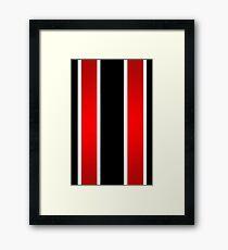 Thick stripes Framed Print