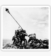Streetlight Iwo Jima Sticker