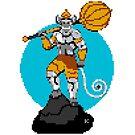 Hanuman Pixel Art by artkarthik