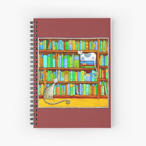 Literary Felines Spiral Notebook