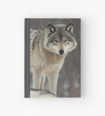 Dominant Wolf Hardcover Journal