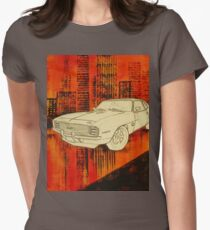Abstract Classic Car  Womens Fitted T-Shirt