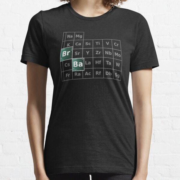 Breaking Bad Periodic Table Essential T-Shirt