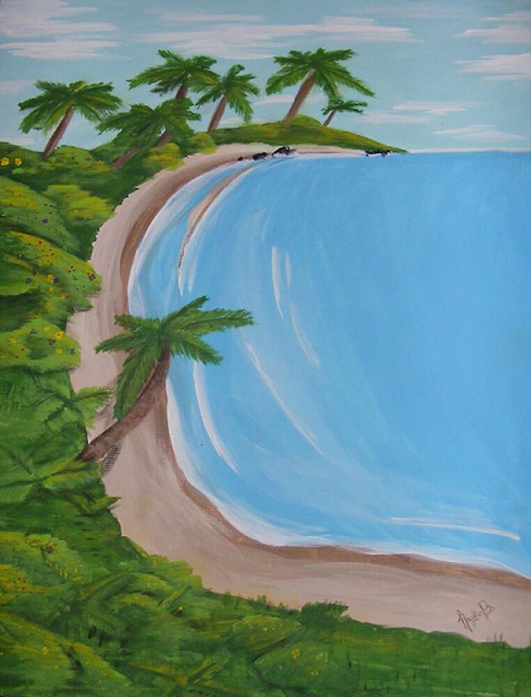 pretty beach by Hayden Brown