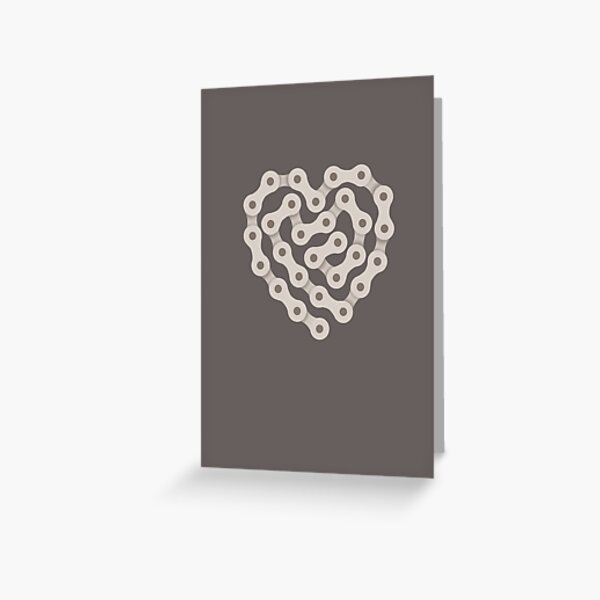 Love Biking Greeting Card