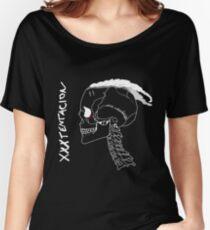 XXXTentacion Skull Women's Relaxed Fit T-Shirt