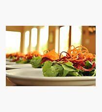 Buffet Salad Photographic Print